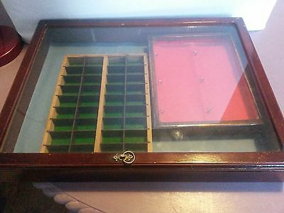3 Antiques/jewellery Display Cases/stands - Ideal For Antiques Fairs Etc