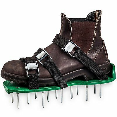 Aerator Shoes Metal Buckles 6 Straps Heavy Duty Extra Spiked Sandals Long Nails
