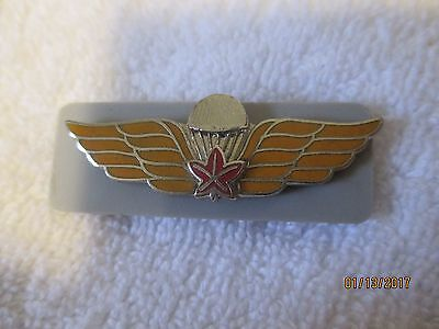 Post Ww11 C 1980 Canadian Parachute Corps  Breast  Badge