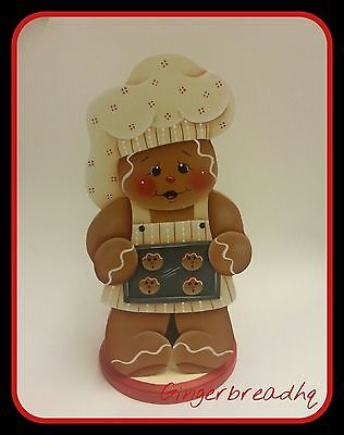 HP Gingerbread   Paper Towel Holder, Gingerbread Decor