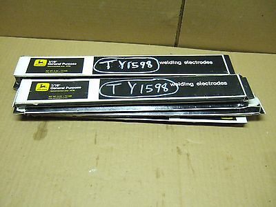 NOS John Deere Welding rods electrodes 1/16 and 3/32 general purpose 7.5#