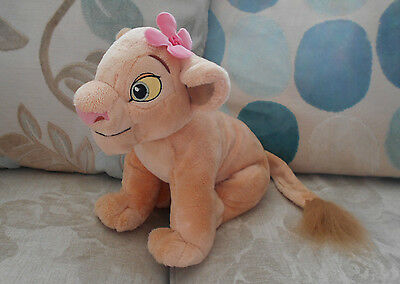 NALA LION CUB large plush beanie soft toy THE LION KING Disney Store Exclusive