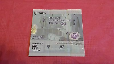 Leeds v London Broncos 1999 Challenge Cup Final Used Rugby League Ticket