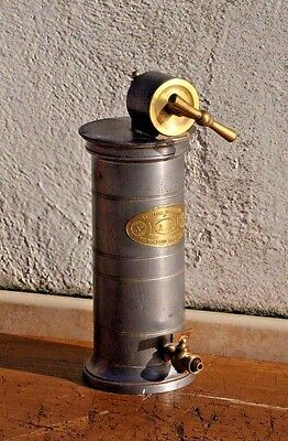 Antique French Medical Irrigatior Tool by Dr. Eguisier Tin and Brass. Oddities