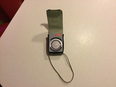 Prixcolour Dorn CP light/exposure meter with case and strap