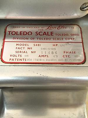 10 inch Toledo commercial Meat and Cheese Slicer