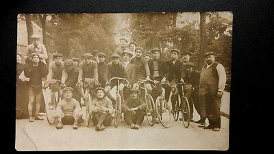 Cpa Photo. Course Velo  Bicyclette Sport . A Identifier