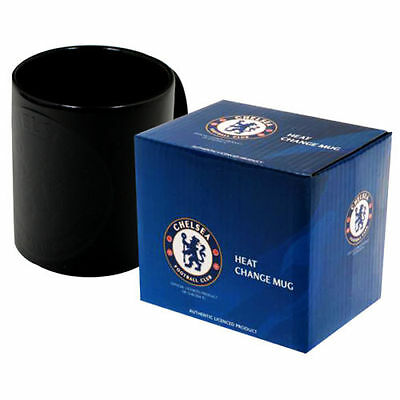 CHELSEA FC NEW HEAT CHANGING CERAMIC TEA Mug