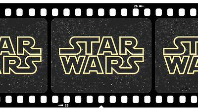 35mm STAR WARS/GUERRE STELLARI/スター ウォーズ  FILM/MOVIE/FLAT/ LUCAS 1997 EPISODE IV