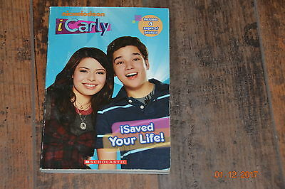 Icarly I Saved Your Life Soft Cover Book
