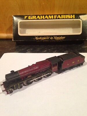 N GAUGE PECO? 4-6-0 LMS Steam Loco Nice Condition Please Read