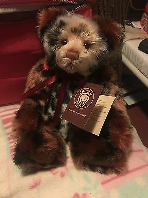 Charlie Bears Molino 13 inch Plush Bear Designed by Isabelle Lee