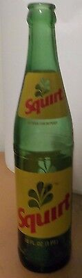 Vintage Squirt 16 Ounce Soda Glass Bottle Clearance Sale