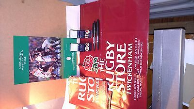 A Box Above Rugby's World Stage Programme 2000 & More*