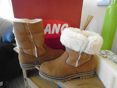 Olang shearling KANSA  sheepskin boots UK 3.5 cosy cosy feet with these heaven!