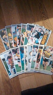 Cas tigers rugby league programmes