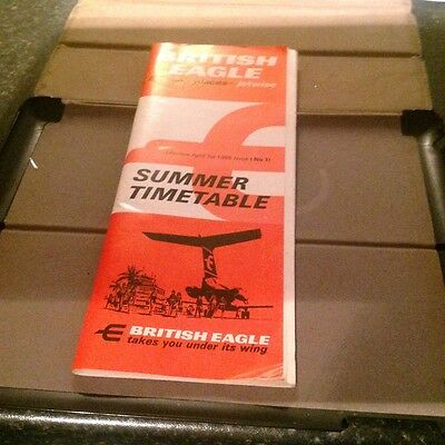 1966 Summer Timetable  From British Eagle