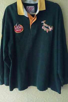 Cotton Trader's Size Xl South Africa Rugby Shirt