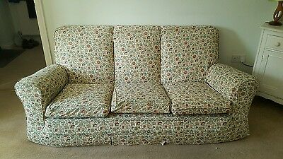 Vintage style 3 seater sofa & 2 chairs