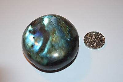 Labradorite Polished Galet - 77g   AAA quality  A2267C