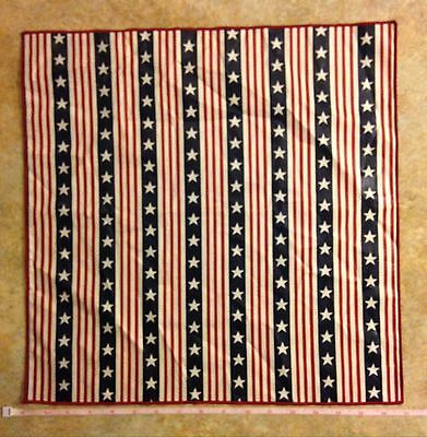 NEW, Longaberger All American Fabric Napkin - Red, White & Blue