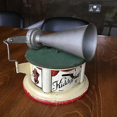 Bing Kiddyphone Tin Toy Gramophone