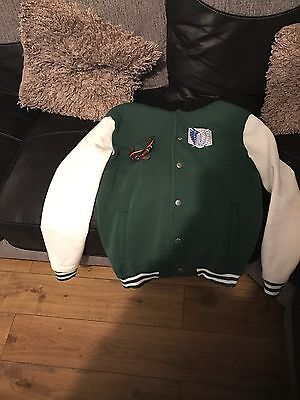 attack on Titan jacket and bracelet (used)