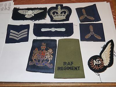 military cloth patches some RAF i believe many assorted view photos ref 1