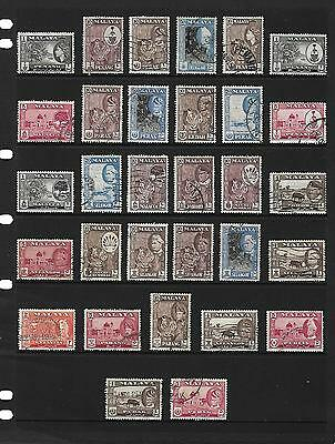 MALAYSIA stamp selection.(ref.207)