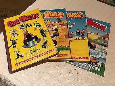 Oor Wullie & The Broons Annuals X 8