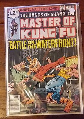 Marvel Comics - Master of Kung Fu - 2 issues - Bronze age