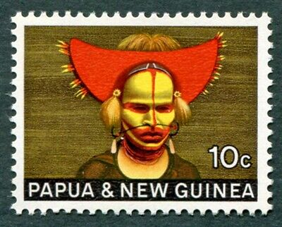 PAPUA NEW GUINEA 1968 10c SG126 mint MH FG National Heritage #W9