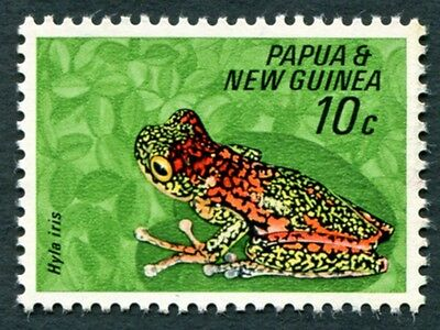 PAPUA NEW GUINEA 1968 10c SG130 mint MH FG Fauna Conservation Frogs #W9