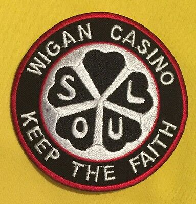 Wigan Casino - Keep The Faith - Soul Iron On Patch