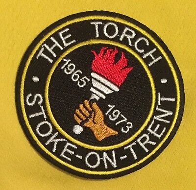 The Torch - Stoke-on-Trent Iron On Patch
