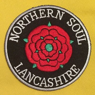 Northern Soul Lancashire Iron On Patch
