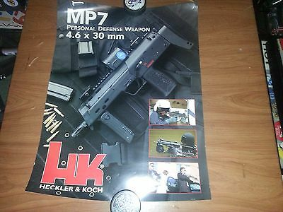 Heckler & Koch Poster-Mp7 Personal Defense Weapon