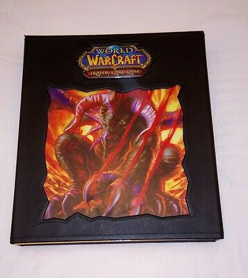 World of Warcraft Trading Card Game Collection 640+ Cards in Official Folder