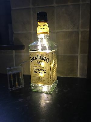 Jack Daniels Honey Bottle Light
