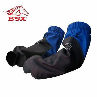 Revco BX9-19S-RB BSX Reinforced Fire Resistant Sleeves Royal Blue/Black New