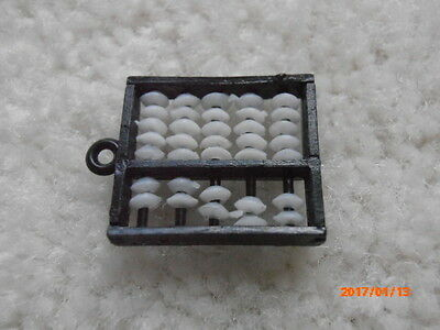 Vintage 1960's Little Abacus Gumball Cracker Jack Toy Charm  Rare!!