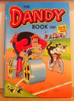 The Dandy Book 1987. Cartoon Characters. Modern Age (1980 - Now)