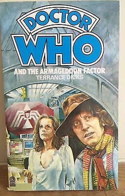 Doctor Who and the Armageddon Factor. Terrance Dicks. Target Paperback (1984).