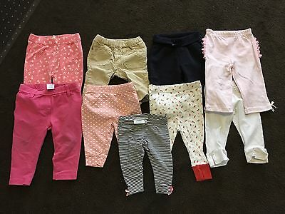 9 X Size 3-6 Month Baby Leggins. Post Or Pick Up Mount Waverley