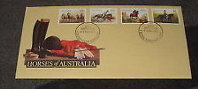 Horses First Day Cover