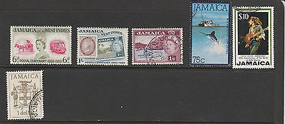 Jamaica - Small Collection Of Odds And Ends