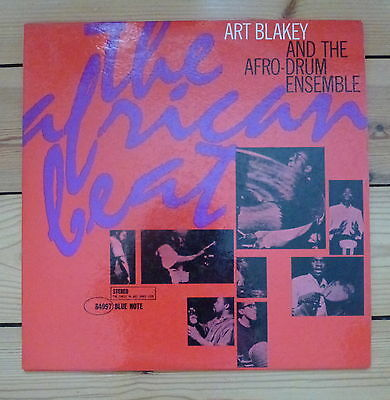 ART BLAKEY The African Beat, orig. Stereo US LP, Blue Note 84097, NY, RVG, ear
