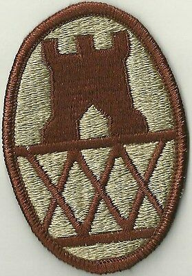 US ARMY 30th ENGINEER BRIGADE PATCH