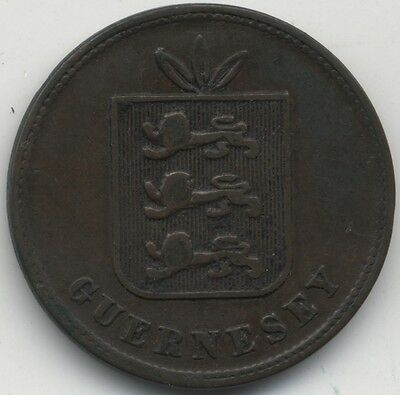 1874 Guernsey 4 Doubles***Collectors***