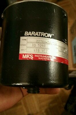 MKS 227A Absolute Baratron Pressure Transducer, 1 Torr, 227AA-00001A